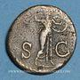 Münzen Claude (41-54). Claude (41-54). As. Rome, 41-42. R/: Minerve casquée debout à droite