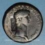 Münzen Claude (41-54). Sesterce. Rome, 42, contremarqué : NCAPR sous Néron