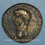 Münzen Claude I (41-54). Dupondius. Rome, 41-42. R/: Cérès