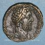 Münzen Commode (177-182). Sesterce. Rome, 189. R/: la Fortune