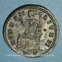 Münzen Constance I Chore (305-306). Follis. Ticinum, 3e officine, 305. R/: la Fidélité