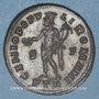 Münzen Constance I Chore(305-306). Follis. Trèves, 1ère officine, 305-306. R/: Génie tourelé