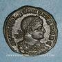 Münzen Constance II, césar (324-337). Centenionalis. Siscia, 3e officine. 334-335. R/: deux soldats