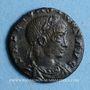 Münzen Constant (337-350). Centenionalis. Rome, 1ère officine, 337-340. R/: La Sécurité debout de face