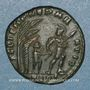 Münzen Constant (337-350). Maiorina. Aquilée, 1ère officine. 348-350. R/: soldat