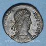 Münzen Constant (337-350). Maiorina. Trèves, 2e officine, 348-350. R/: Constant en habit militaire