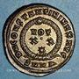 Münzen Constantin I (307-337). Centenionalis. Héraclée, 1ère officine. 325-326. R/: couronne