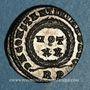 Münzen Constantin I (307-337). Centenionalis. Rome, 1ère officine. 321. R/: VOT / XX  dans une couronne