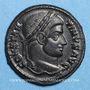 Münzen Constantin I (307-337). Centenionalis. Siscia, 4e officine, 320-321. R/: couronne