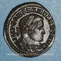 Münzen Constantin I (307-337). Follis. Londres. 1ère officine, 313-314. R/: Génie