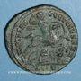 Münzen Constantin I, césar (306-307). Follis. Ticinum, 2e officine, 306. R/: Constantin