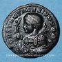 Münzen Constantin II, césar (317-337). Follis. Trèves, 2e officine, 322. R/: globe posé sur un autel