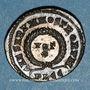 Münzen Crispe, césar (317-326). Centenionalis. Lyon, 1ère officine, 323. R/: VOT / X dans une couronne