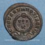 Münzen Crispe, césar (317-326). Centenionalis. Trèves, 2e officine, 323-324. R/: VOT / X