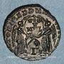 Münzen Décence, césar (350-353). Maiorina. Arles, 2e officine (?). 351-352. R/: deux Victoires