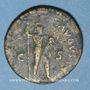 Münzen Domitien (81-96). Dupondius. Rome. R/: la Valeur debout à droite