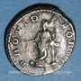 Münzen Elagabale (218-222). Denier. Rome, 219. R/: la Providence debout à gauche