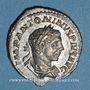 Münzen Elagabale (218-222). Denier. Rome, 220-221. R/: la Fortune debout à gauche