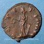 Münzen Frappes barbares (vers 270-275). Antoninien. R/: la Joie debout