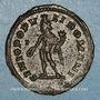 Münzen Galère Maximien, césar (293-305). Follis. Londres, vers 300. R/: Génie