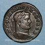 Münzen Galère Maximien, césar (293-305). Follis. Siscia, 1ère officine. 295. R/: Génie