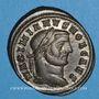Münzen Galère Maximien, césar (293-305). Follis. Ticinum, 2e officine.  298-299. R/ Génie