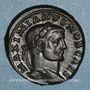 Münzen Galère Maximien, césar (293-305). Follis. Trèves, 2e officine. 295. R/: Génie