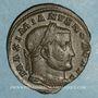 Münzen Galère Maximien, césar (293-305). Follis. Trèves, 2e officine. 298-299. R/ Génie