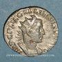 Münzen Gallien (253-268). Antoninien. Rome, 255-257. R/: la Providence