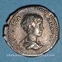 Münzen Géta, césar sous Septime Sévère et Caracalla (198-209). Denier. Rome, 202. R/: la Sécurité. Inédit !