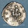 Münzen Géta, césar sous Septime Sévère et Caracalla (198-209). Denier. Rome, 204. R/: Castor