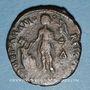 Münzen Gratien (367-383). Maiorina. Théssalonique, 1ère officine, 378-83. R/: l'empereur