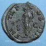 Münzen Hadrien (117-138). As. Rome, 121-122. R/: la Paix