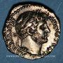 Münzen Hadrien (117-138). Denier fourré. Rome, 134-138. R/: sept étoiles sur un croissant