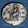 Münzen Hadrien (117-138). Denier. Frappe barbare, (125-128). R/: Rome