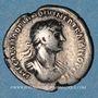 Münzen Hadrien (117-138). Denier. Rome, 118. R/: Rome. Inédit !