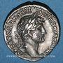 Münzen Hadrien (117-138). Denier. Rome, 119-122. R/: Hadrien
