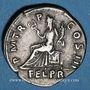 Münzen Hadrien (117-138). Denier. Rome, 119-122. R/: la Félicité