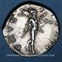 Münzen Hadrien (117-138). Denier. Rome, 119-122. R/: Mars