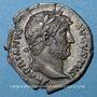 Münzen Hadrien (117-138). Denier. Rome, 128. R/: astre sur un croissant