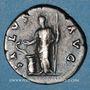 Münzen Hadrien (117-138). Denier. Rome, 134-138. R/: la Santé