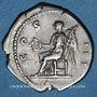Münzen Hadrien (117-138). Denier. Rome, 134-138. R/: Victoire