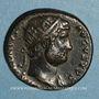 Münzen Hadrien (117-138). Dupondius. Rome, 125-128. R/: l'Equité
