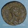 Münzen Hadrien (117-138). Sesterce. Rome, 119.  R/: Hadrien