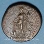 Münzen Hadrien (117-138). Sesterce. Rome, 119.  R/: l'Abondance