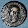 Münzen Hadrien (117-138). Sesterce. Rome, 125-128. R/: la Fortune