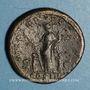 Münzen Hadrien (117-138). Sesterce. Rome, 128. R/: l'Allégresse debout à gauche