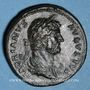 Münzen Hadrien (117-138). Sesterce. Rome, 132-134. R/: la Justice