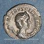 Münzen Hérennia Etruscille, épouse de Trajan Dèce. Antoninien. Rome, 250-251. R/: la Pudeur