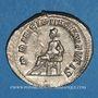 Münzen Hérennius Etruscus, césar (250-251). Antoninien. Rome, 251. R/: Appolon assis à gauche
